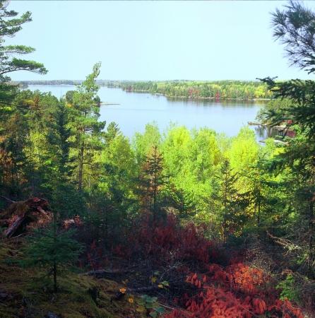 overlook: Kabetogama Lake Overlook - Voyageurs National Park