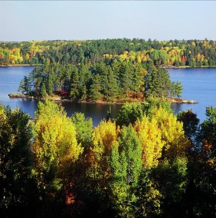 overlook: Kabetogama Lake Overlook - Voyageurs National Park, MN