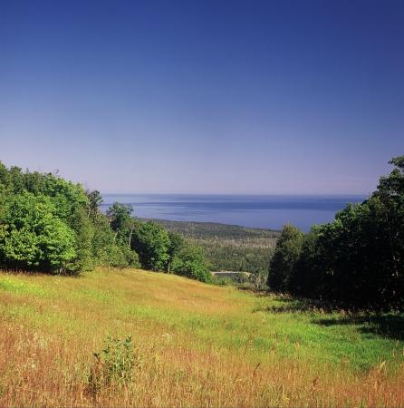 overlook: Moose Mtn. Overlook on Lake Superior - MN