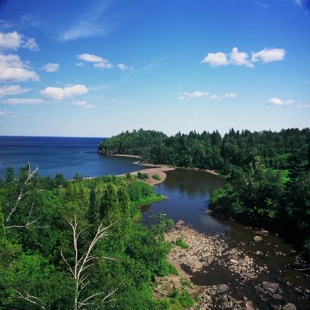 overlook: Beaver Bay Overlook on Lake Superior - MN
