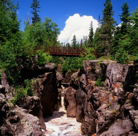 River Gorge Vista - Temperance River State Park, MN