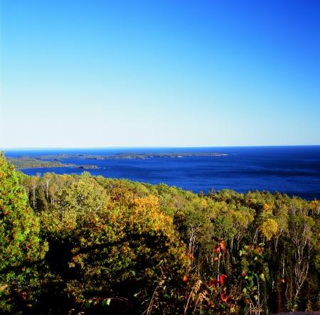 overlook: Mt  Josphine Overlook on Lake Superior - Minnesota