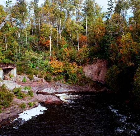 temperance: Temperance River Autumn Overlook - Minnesota