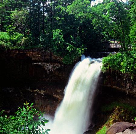 overlook: Minnehaha Falls Overlook - Minneapolis, Minnesota