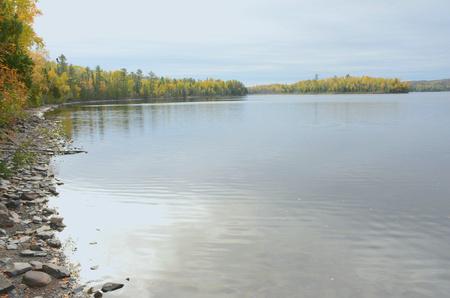 minnesota: Scenic Gunflint Lake In Northern Minnesota