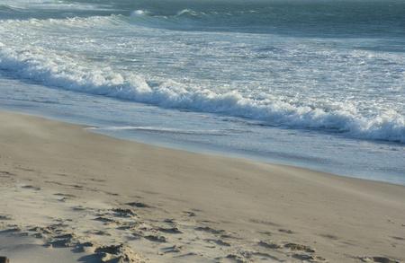 pacific ocean: Pacific ocean waves impinging the Oregon coastline. Stock Photo