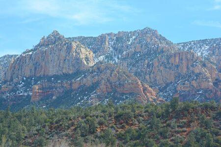 Scenic red rocks landscape in Sedona, northern AZ.