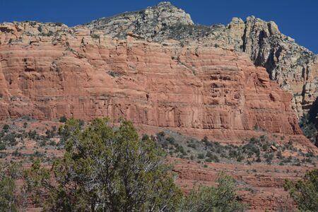 Finn Rock, iconic sandstone formation in Sedona, AZ.