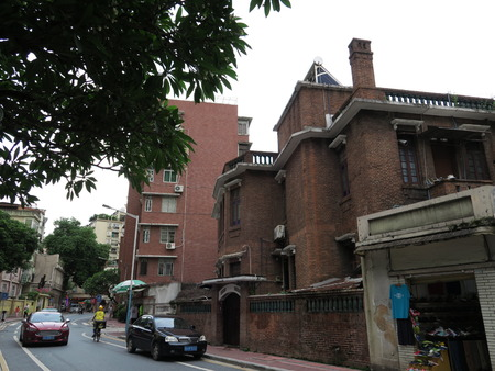 gules: Guangzhou historical ancient architecture