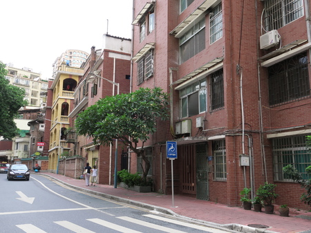 gules: Guangzhou Dongshan historical ancient architecture