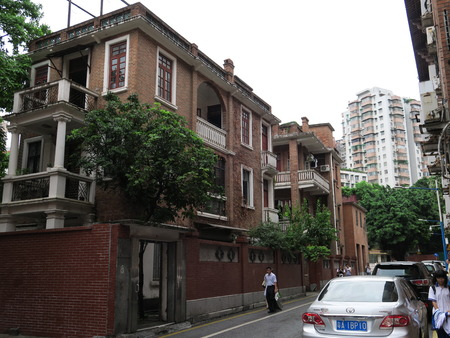 gules: Guangzhou historic ancient architecture Editorial