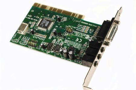 コンピューターの PCI オーディオ カード