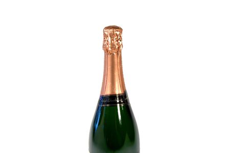 sparkling wine bottle