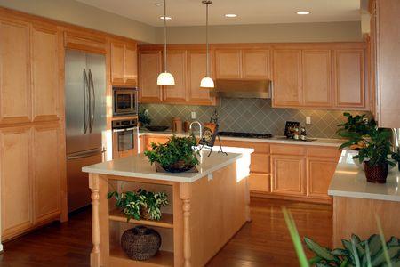 island: Modern California Kitchen