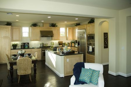 country style kitchen in Northern california