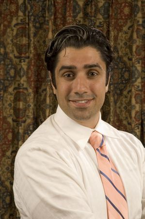 Young middle-eastern executive Stock Photo - 930785