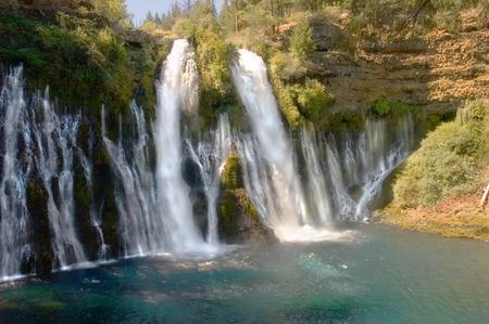 aquifer: burney falls in northern California