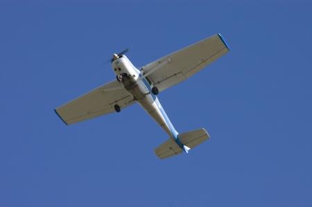 aileron: aircraft flying overhead after takeoff in Hayward, Northern California