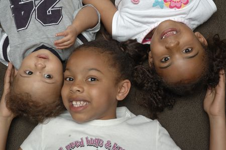 Attractive African American children
