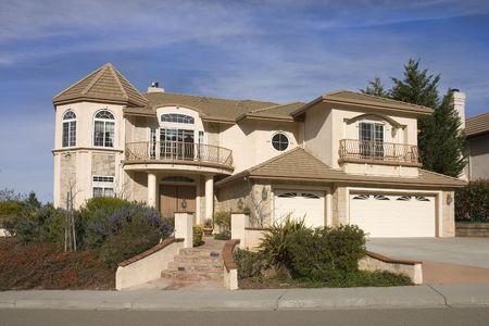 Exécutif de la maison dans le nord de la Californie Banque d'images - 2630586