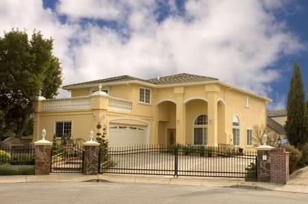 gated Executive home in Northern California community