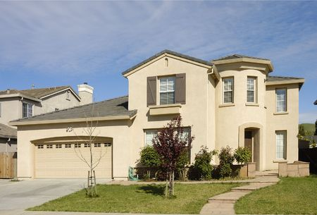 stucco: Executive home in Northern California