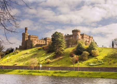 インヴァネス城, インバーネス, スコットランド 写真素材