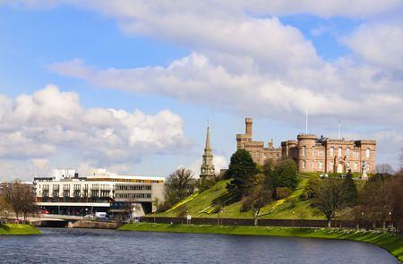 ness river: Inverness Castle, Inverness Scotland