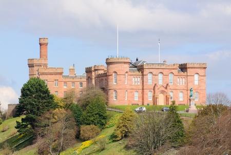 Inverness Castle, Inverness Scotland