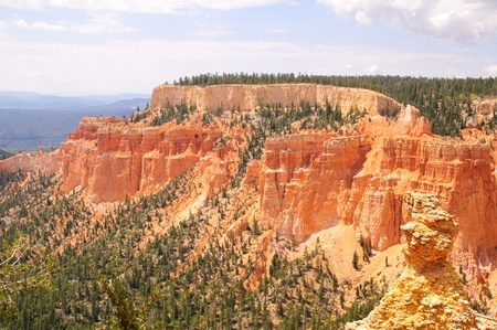 Vista of bryce Canyon National Park in Utah photo