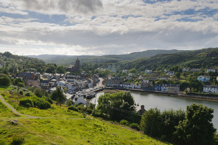 robert bruce: Tarbert Loch Fyne, Kintire, Scotland Stock Photo
