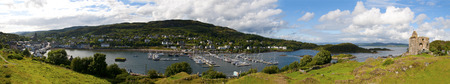 Tarbert Loch Fyne, Kintire, Scotland Stock Photo