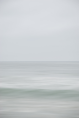 Seascape vertical of  wave unfolding