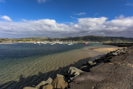 Boats and yatchs at Apollo Bay Coastal Reserve Melbourne Australia Great Ocean Road