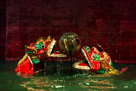 Water puppetry is a tradition that dates back as far as the 11th century when it originated in the villages of the Red River Delta area of northern Vietnam