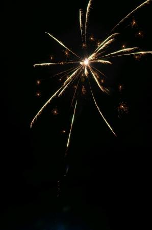 hope: fireworks Stock Photo
