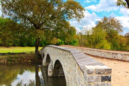 Civil War Bridge in Antietam, Maryland