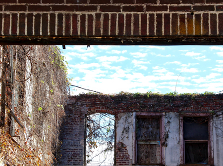 クラークスデールに放棄された建物