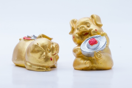 glod: PIG ceramic Glod  Stock Photo