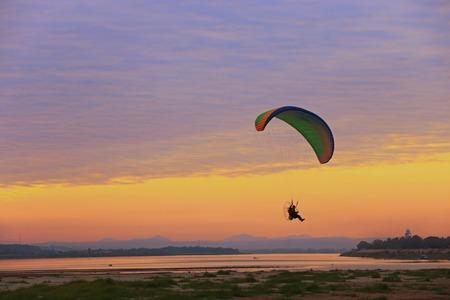 x sport: Flying Over Khong River
