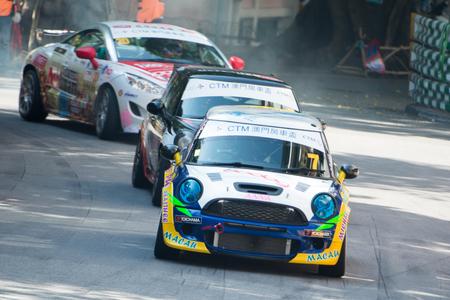grand prix: 62 Macau Grand Prix CTM Macau Touring Car Cup Editorial