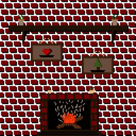 hearth draw - PixelArt