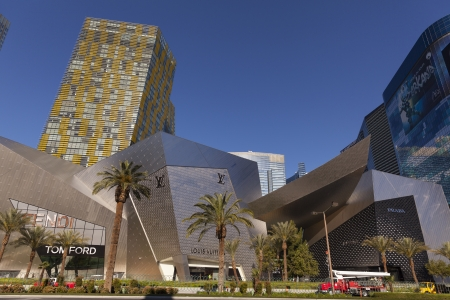 financed: LAS VEGAS - APRIL 19, 2013 - Crystals at City Center on April 19, 2013  in Las Vegas  With a total cost of 9 2 Billion, CityCenter is the largest privately financed development in the United States  Editorial