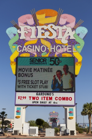 LAS VEGAS - MAY 29, 2013 - Fiesta Rancho Hotel on May 29, 2013  in Las Vegas, NV  Fiesta Rancho is one of 10 Station Casino