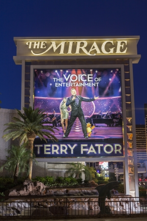 LAS VEGAS - JUNE 05, 2013 - The Mirage Hotel on June 05, 2013  in Las Vegas, NV  Terry Fator won Americas Got Talent and is currently in the middle of a 5 year contract at the Mirage