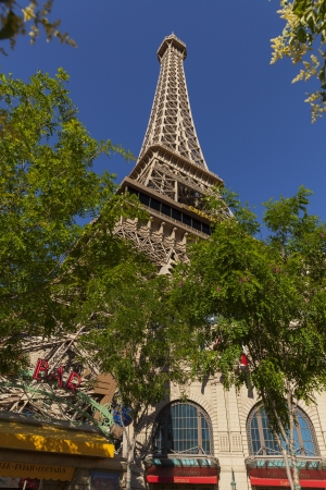 two floors: LAS VEGAS - MAY 20, 2013 - Paris Hotel on May 20, 2013  in Las Vegas  Chateau Nightclub   Gardens at the Paris Hotel spans more than 45,000 sq ft on two floors, including a terrace overlooking the strip