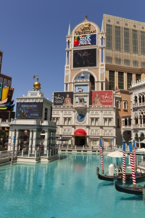carnevale: LAS VEGAS - APRIL 27, 2013 - The Venetian on April 27, 2013  in Las Vegas  Carnevale, a summer celebration returns to the Venetian from May 27 through September 8, 2013