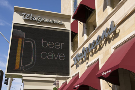 8 12: LAS VEGAS - MAY 12, 2015 - Walgreens is the largest drug retail chain in the United States with over 8,000 stores.