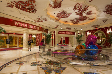 steve: LAS VEGAS - MAY 12, 2015 - In early 2015 Steve Wynn opened a new show called Showstoppers at the Encore theater inside of the Wynn hotel. Editorial