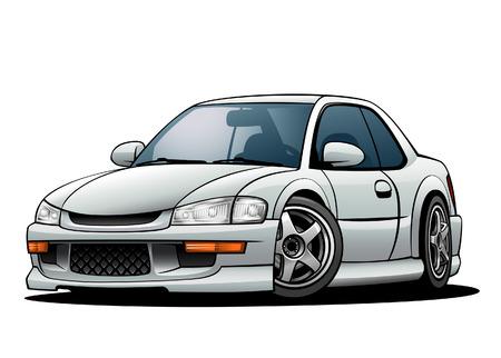 01: JDM Sports Car 01 Illustration